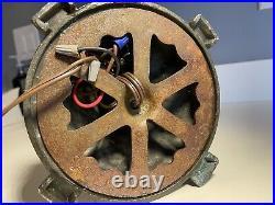 Antique Salem Bros. Bent Slag Glass Lamp Bradley & Hubbard Miller Handel styles
