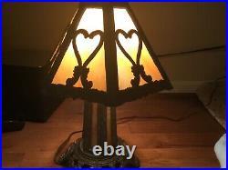 Antique Slag Lamp