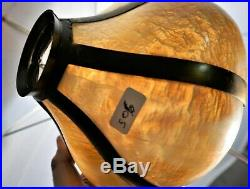 Antique Victorian Mission Arts&crafts Slag Glass Lamp Shades 1 Pair