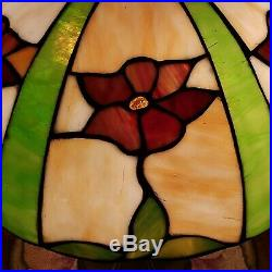 Arts & Crafts Leaded Slag Stained Glass Lamp Handel Duffner Tiffany Era