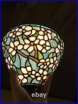 Handel Arts Crafts Mission Antique Leaded Slag Glass Bradley Hubbard Era Lamp