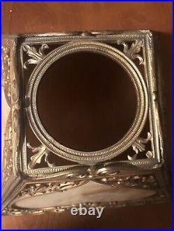 Vintage Slag Glass Lamp Shade