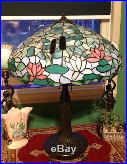Wilkinson best leaded glass lamp Handel Tiffany arts crafts slag Duffner era
